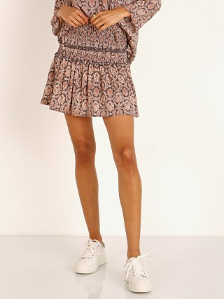Auguste the Label Montague Bennett Shirred Mini Skirt Ink