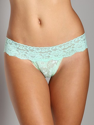 Complete the look: Wendy Glez Hip Thong Lucite Green