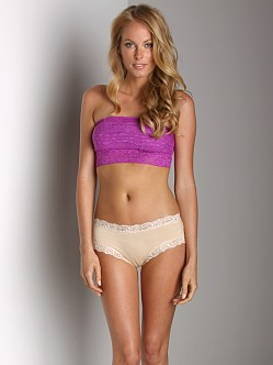 Free People Lace Bandeau Electric Berry