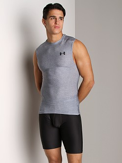 Under Armour Heatgear Sleeveless T Medium Grey Heather