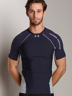 Under Armour Stretch Woven HeatGear Shortsleeve T Midnight Navy