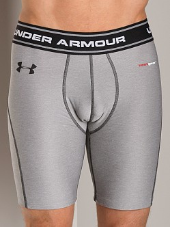 Under Armour Heatgear Fitted Short True Grey Heather