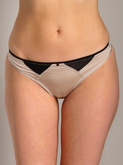 Calvin Klein Grace Thong Cream/Black
