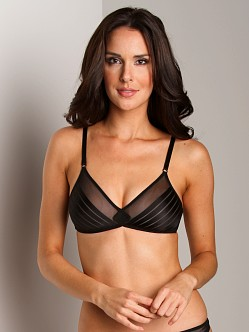 Huit Mrs. Wang Soft Bra Black