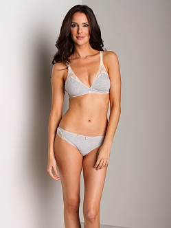 Huit Is Biotiful Soft Bra Gris Chine