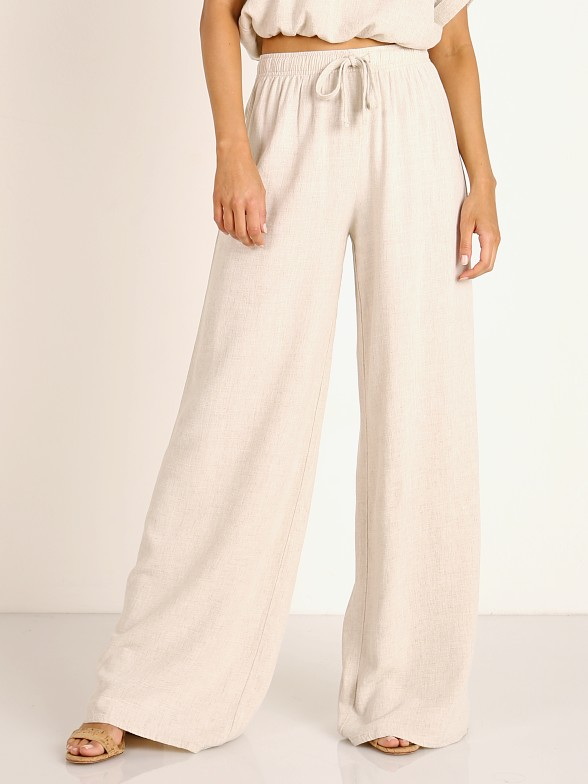 Stillwater The Venice Wide Leg Pant Natural