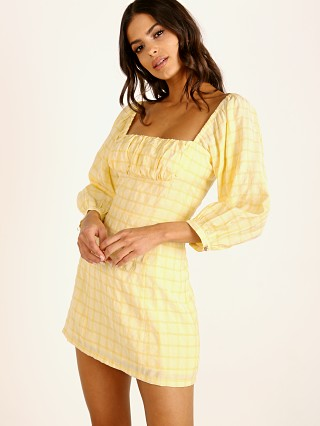 Capulet Cambria Mini Dress Lemon Drop