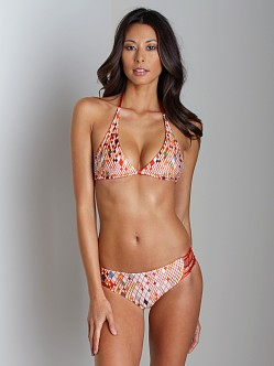 Tallow One World Triangle Reversible Bikini
