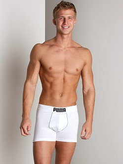 Puma Fitness Boxer Brief White