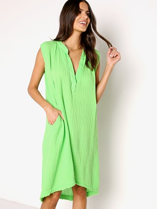 Model in grass 9seed Fez Midi Dress