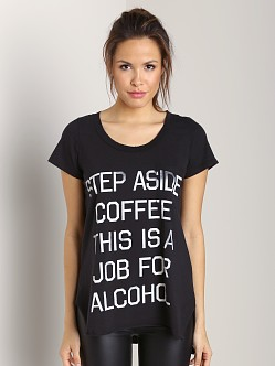 Rebel Yell Step Aside Coffee Pocket Tunic Black