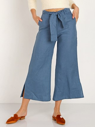 Faithfull the Brand Roza Pants Plain Washed Blue