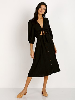 You may also like: Faithfull the Brand Tobago Midi Dress Black