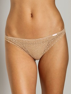 Calvin Klein Brief Encounters Thong Sand Dune