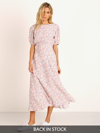 Faithfull the Brand Beline Midi Dress Vionettte Floral