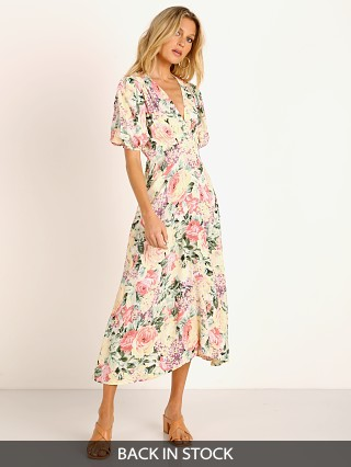 Faithfull the Brand Vittoria Midi Dress Venissa Floral