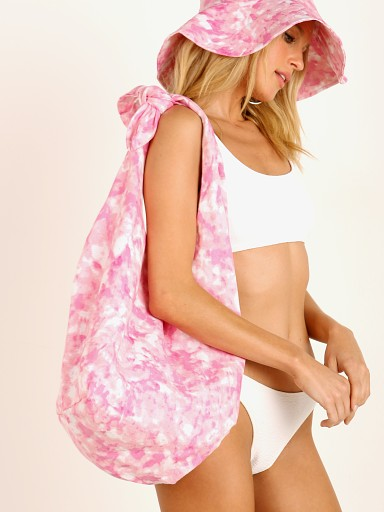 Faithfull the Brand Hanna Tote Bag Roos Pink Tie Dye