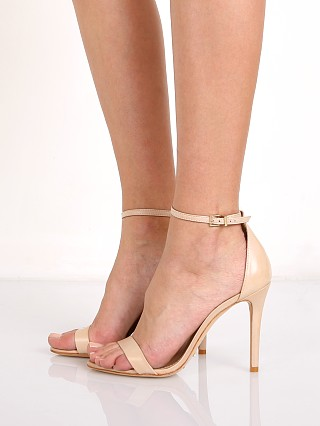 Model in lightwood leather Schutz Cadey Lee Heel