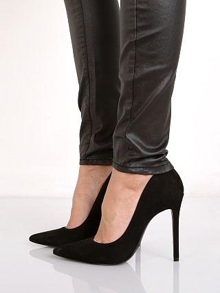 Schutz Gilberta Pump Black Suede