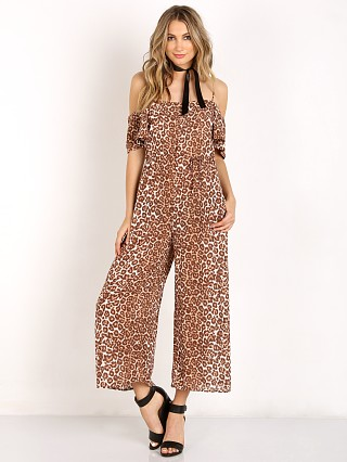 Complete the look: Zimmermann Alchemy Flounce Jumpsuit Leopard