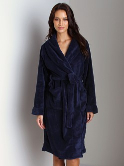 Blush Cozy Robe Navy