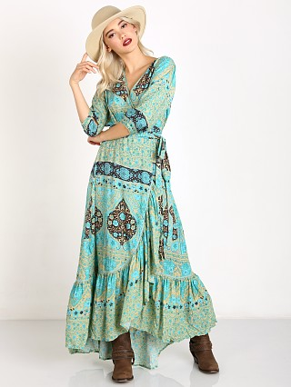 Spell Aloha Fox Wrap Dress Mermaid