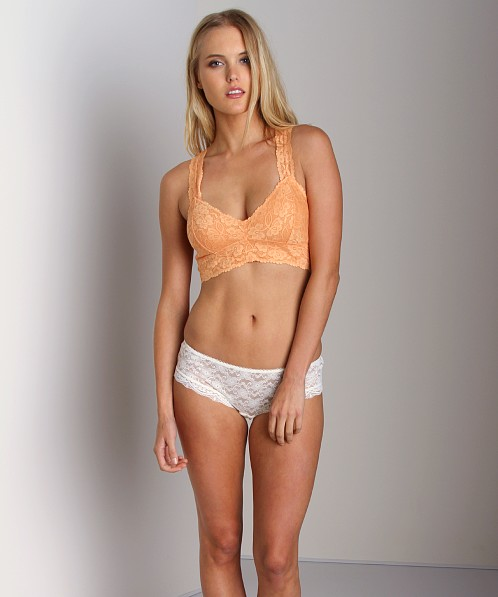 Free People Racerback Cropped Bra Pumpkin