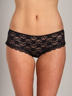 Free People Lace Hipster Black