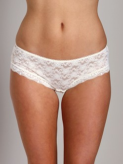 Free People Lace Hipster Ivory