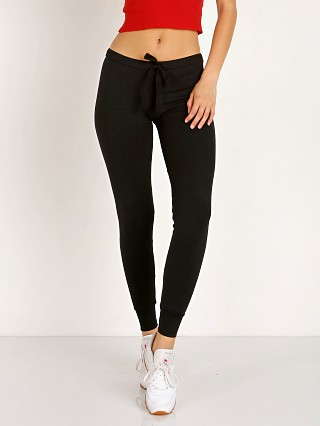 Indah Snickers Solid Drawstring Pant Black