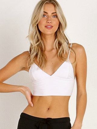 Indah Chocolate Chip Bra Top White
