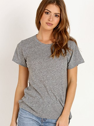 LNA Clothing Essential Tri Blend Mason Crew Heather Grey