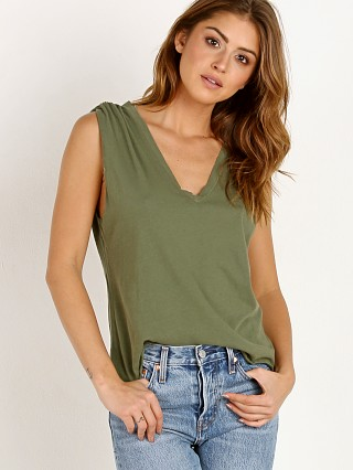 You may also like: LNA Clothing Essential Cotton Lyle Sleeveless Tee Military Green
