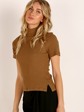 LNA Clothing Berlin Top Heather Camel