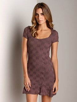 Free People Daisy Dress Dusty Grape