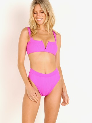 Complete the look: L Space Lee Lee Bikini Top Bright Fuchsia