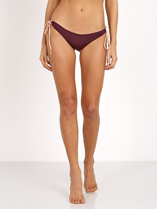 Koa Swim The Prism Bikini Bottom Plum/Bare