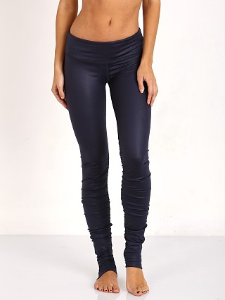 alo Idol Legging Rich Navy Glossy