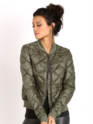 alo Idol Bomber Jacket Jungle Camo