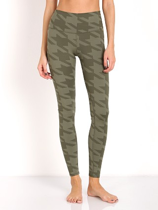 alo High Waist Airbrush Legging Jungle Houndstooth