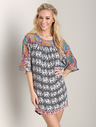Tolani Tatiana Dress Elephants