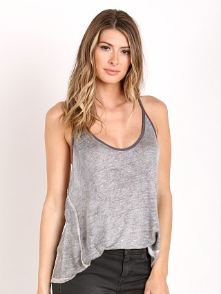 Free People Mocha Tank Graphite