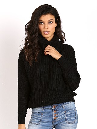 Wyldr Cable Pullover Black