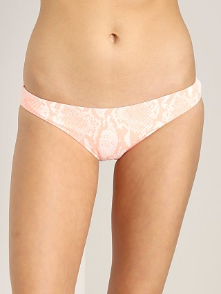 Eberjey Sea Stripe Reversible Valentina Bottom Conch Glow