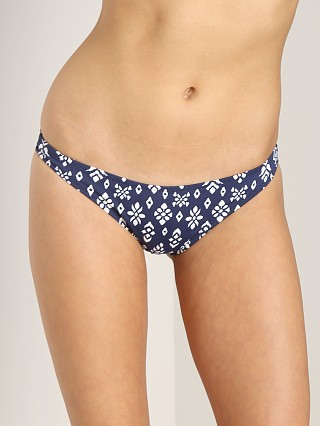 Eberjey Tribal Block Allie Bottom Marine Blue