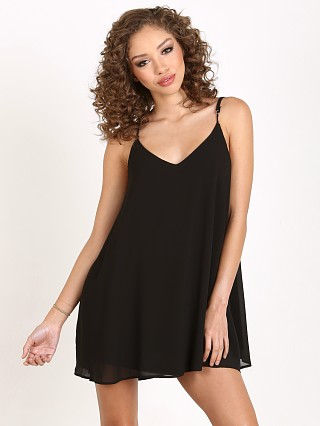 Show Me Your Mumu Circus Mini Dress Black Chiffon