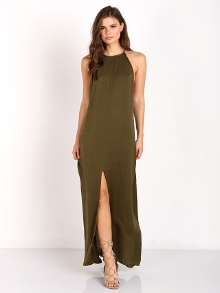 Wyldr Elegance Maxi Dress Khaki
