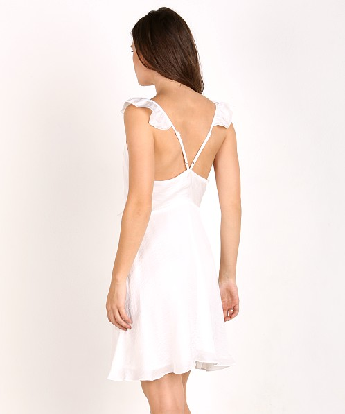 Wyldr Spoken Thoughts Dress Ivory