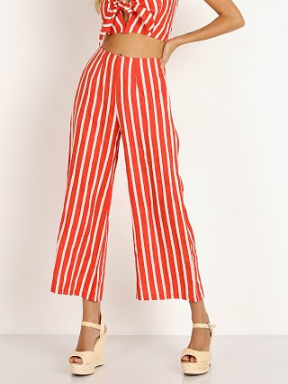 Complete the look: Faithfull the Brand Tomas Pants Mazur Stripe Red