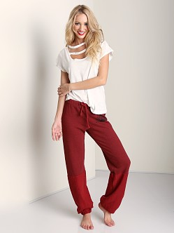 Day by Day Elastic Pant Venitian Red
